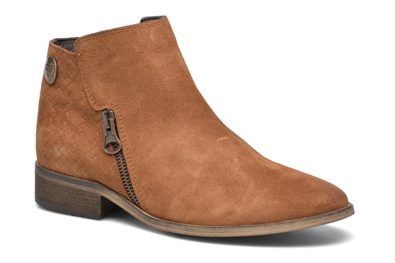 Boots en enkellaarsjes Le temps des cerises Bruin