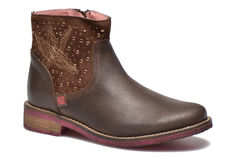 Boots en enkellaarsjes Agatha Ruiz de la Prada Bruin