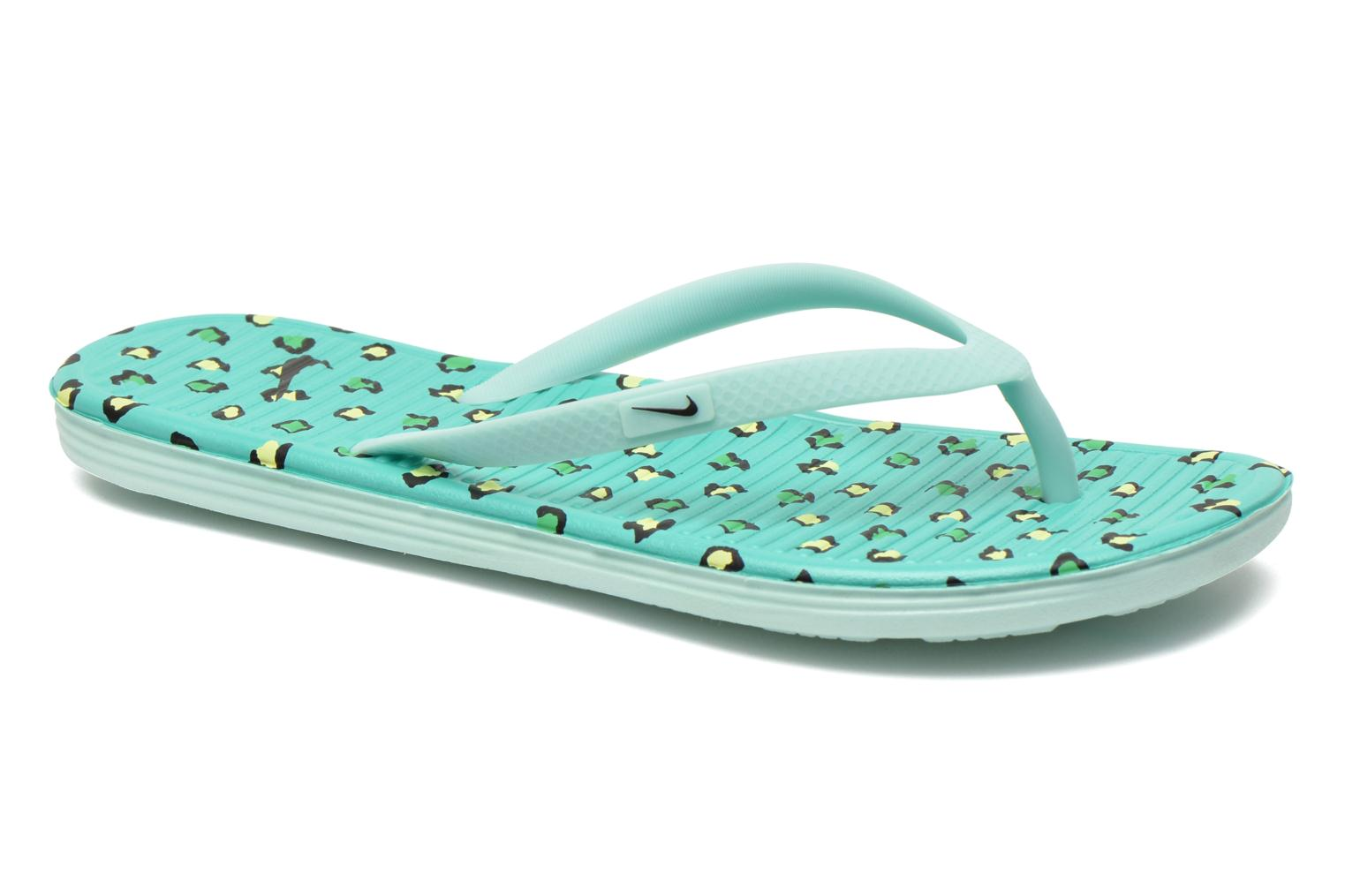 Slippers Wmns Solarsoft Thong 2 Print by Nike