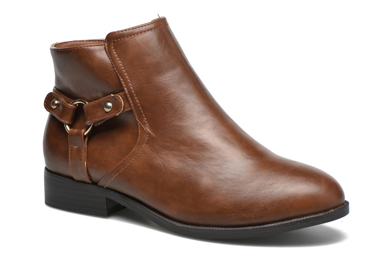 Boots en enkellaarsjes Divine Factory Beige