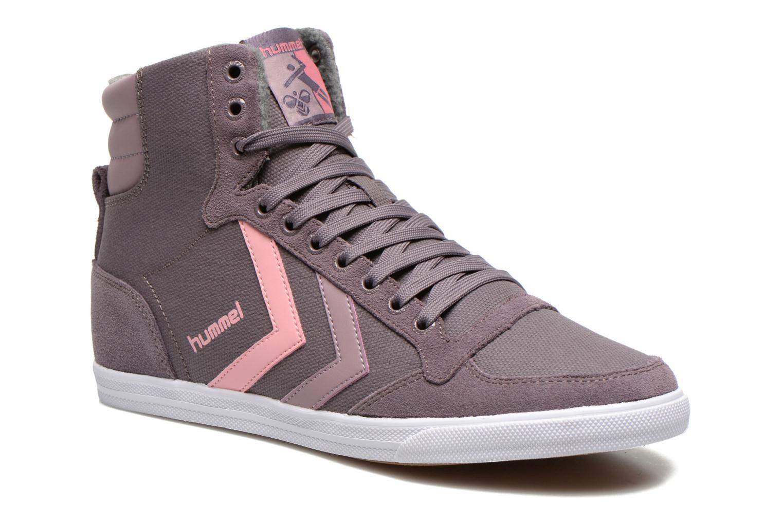 Sneakers Ten Star Waxed Canvas Hi by Hummel