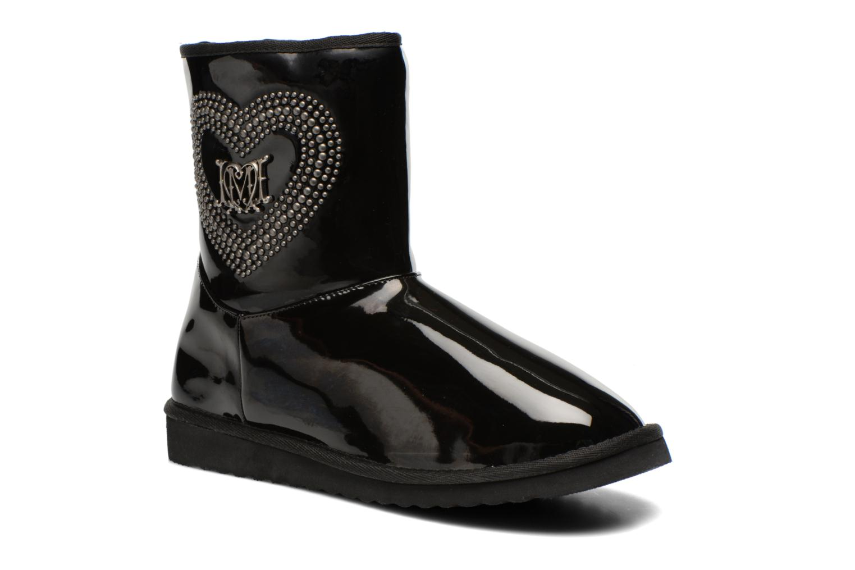 Boots en enkellaarsjes Patent heart by Love Moschino