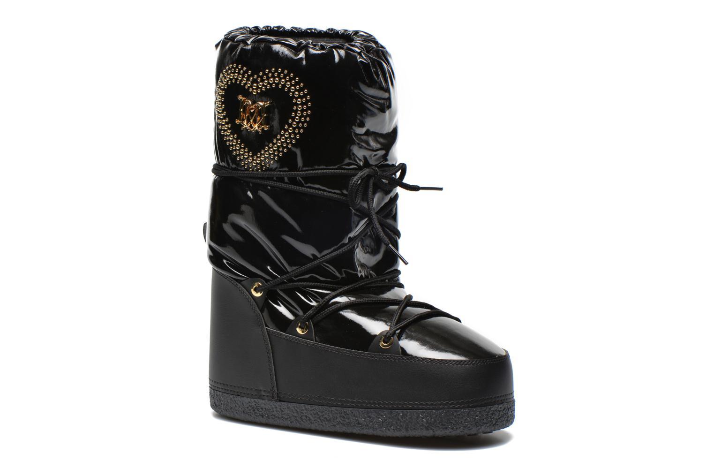 Boots en enkellaarsjes Patent black by Love Moschino