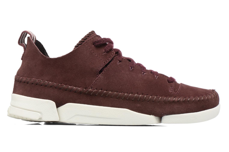 Dettagli su Donna Clarks Originals Trigenic Flex W Sneakers Bordò