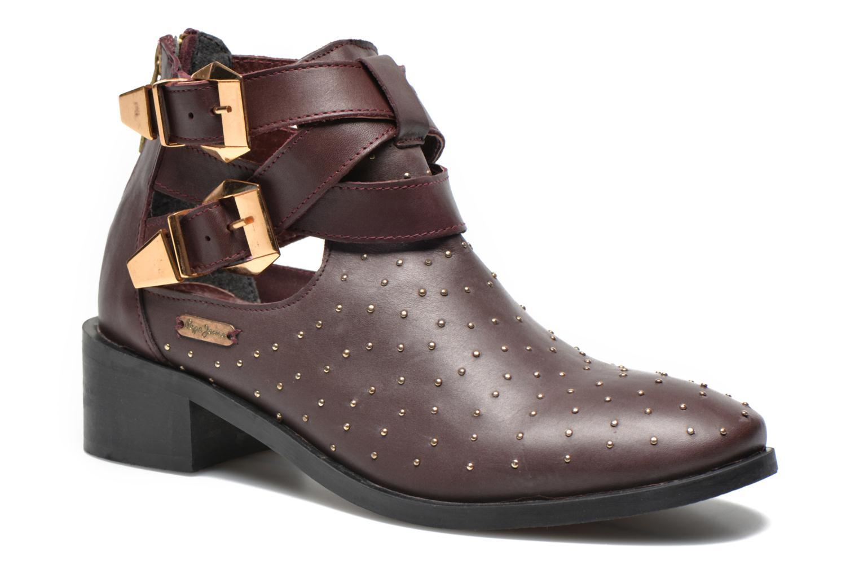 Boots en enkellaarsjes Pepe jeans Bordeaux