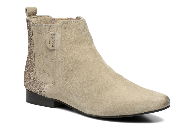 Boots en enkellaarsjes Pepe jeans Beige