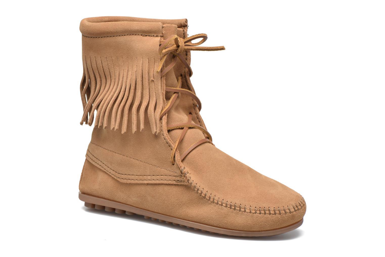 Boots en enkellaarsjes Minnetonka Beige