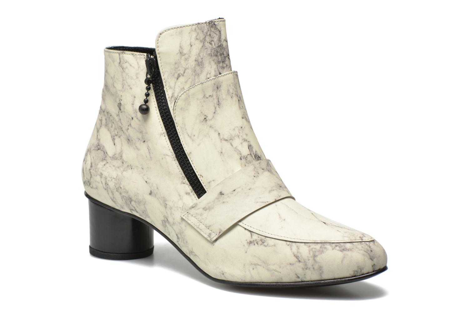 Boots en enkellaarsjes Marble Leather Zan Loafer Bootie by Opening Ceremony