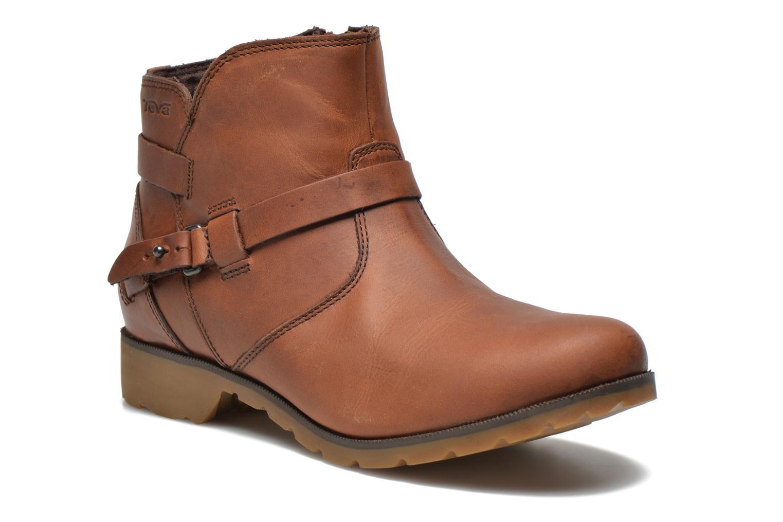 Boots en enkellaarsjes Teva Bruin