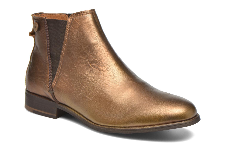 Boots en enkellaarsjes Faguo Goud en brons