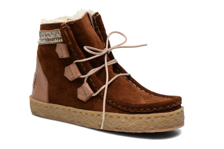 Boots en enkellaarsjes Laidback London Bruin