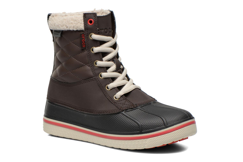 Boots en enkellaarsjes Crocs Bruin
