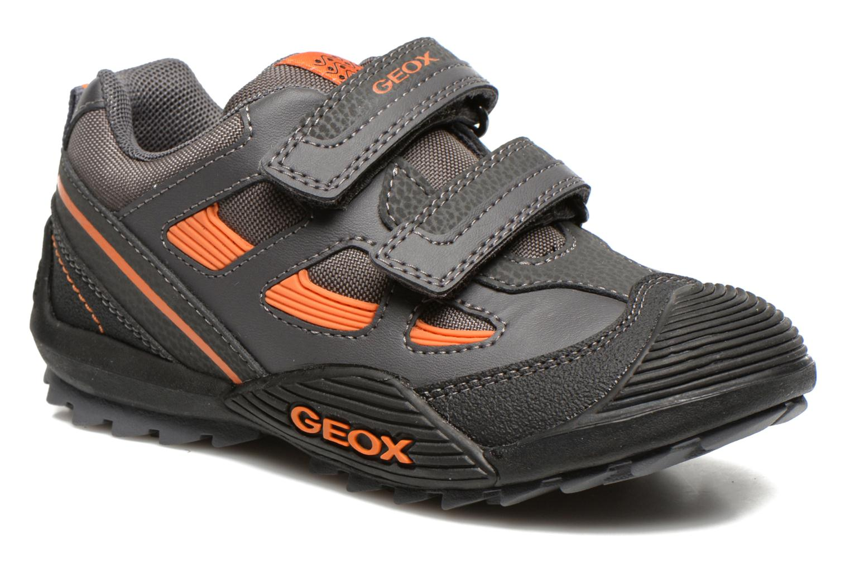 Schoenen met klitteband Geox Grijs