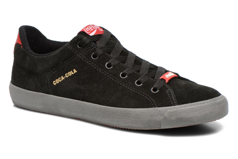 Zapatillas de hombre color negro de Coca cola shoes