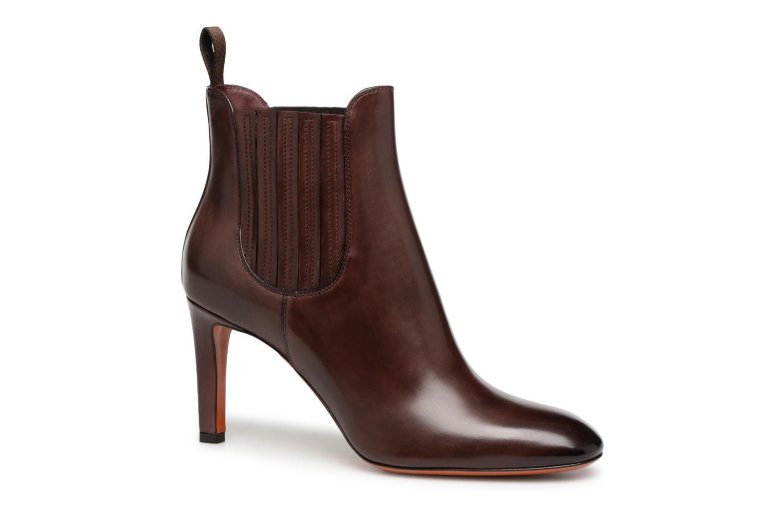 Boots en enkellaarsjes Santoni Bordeaux
