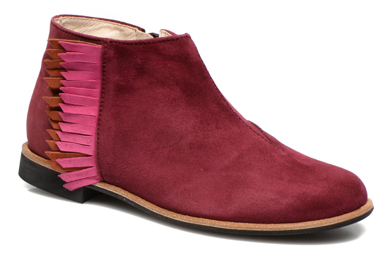 Boots en enkellaarsjes Manuela de Juan Bordeaux