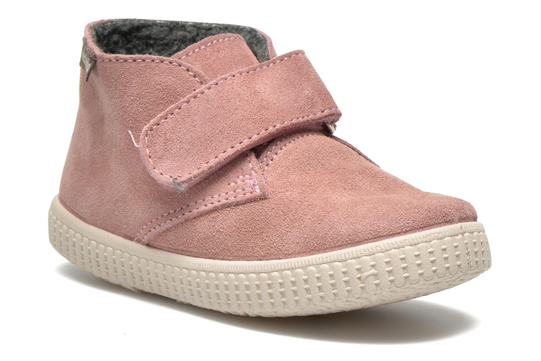 Schoenen met klitteband Victoria Roze