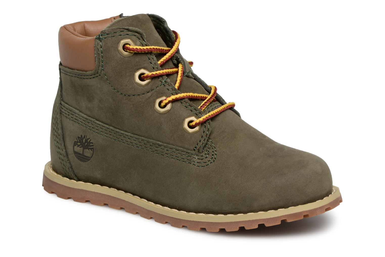 Boots en enkellaarsjes Timberland Groen