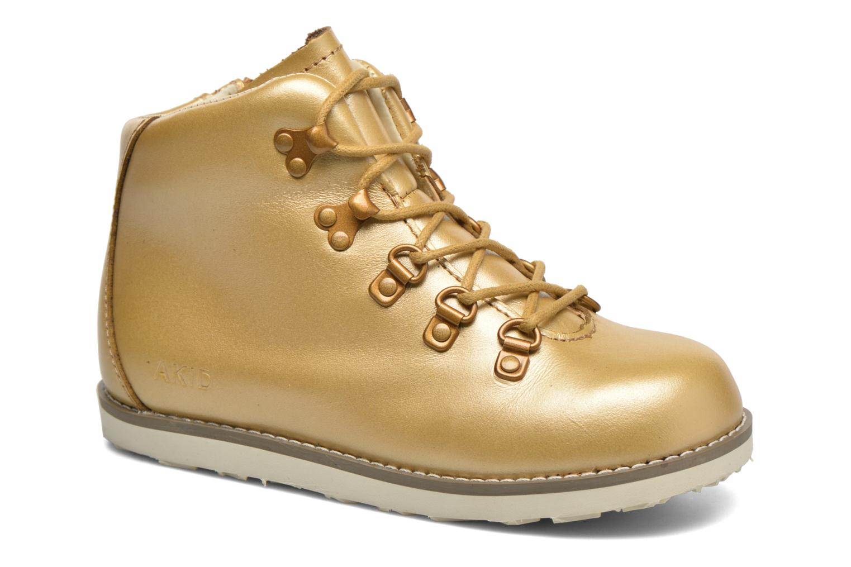 Boots en enkellaarsjes Akid Goud en brons