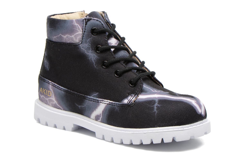 Boots en enkellaarsjes Akid Zwart