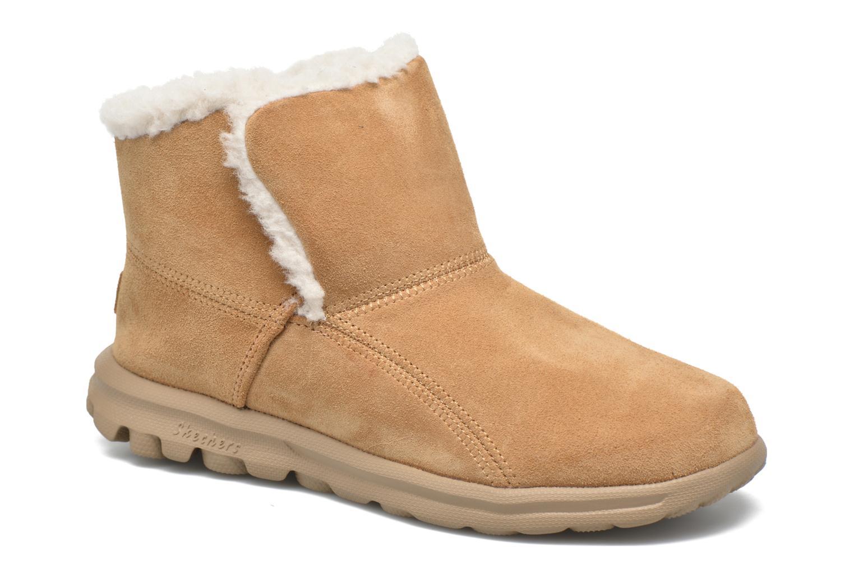 Boots en enkellaarsjes Skechers Beige