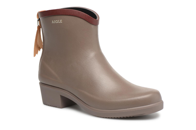 Boots en enkellaarsjes Aigle Bruin