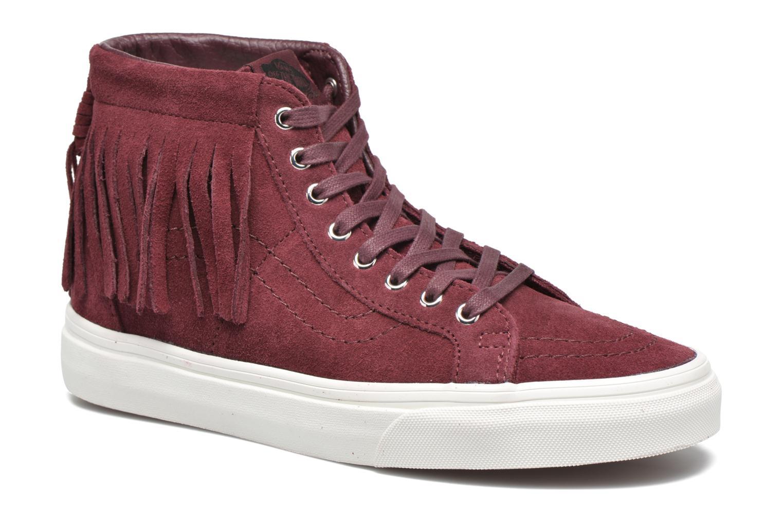 Chaussures De Sport Vans Unisexe Haut 18ijv0 Mince Sk8-salut (rivets) 37 Bianco lurPUR3