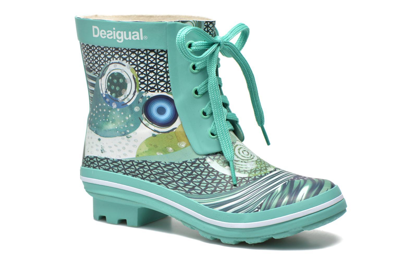Boots en enkellaarsjes Desigual Groen