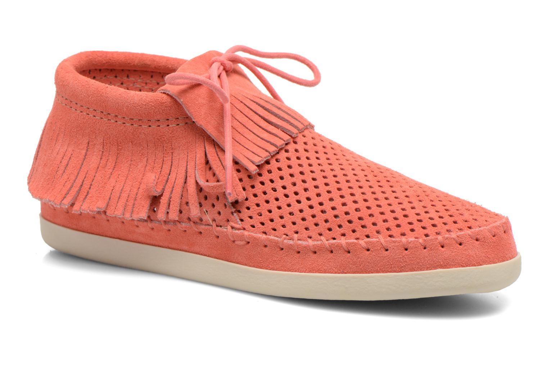 Boots en enkellaarsjes Minnetonka Oranje