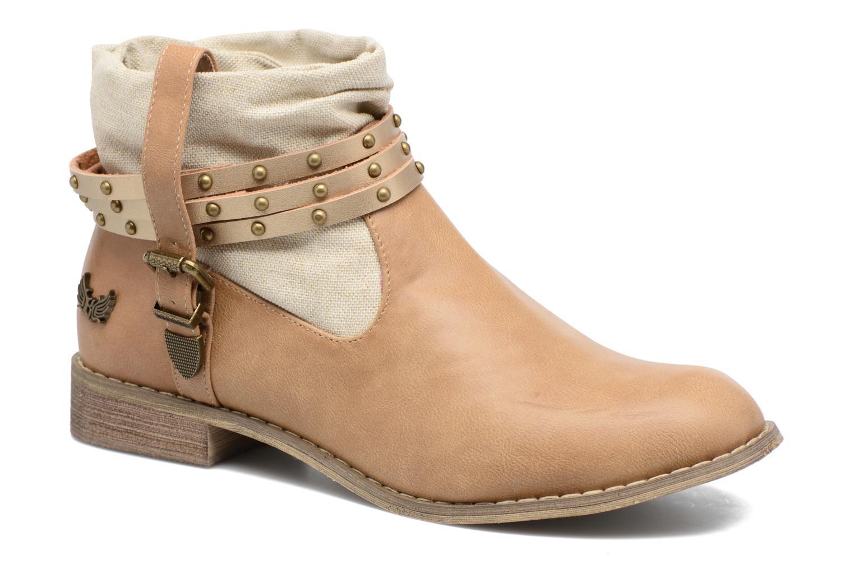 Boots en enkellaarsjes Kaporal Beige