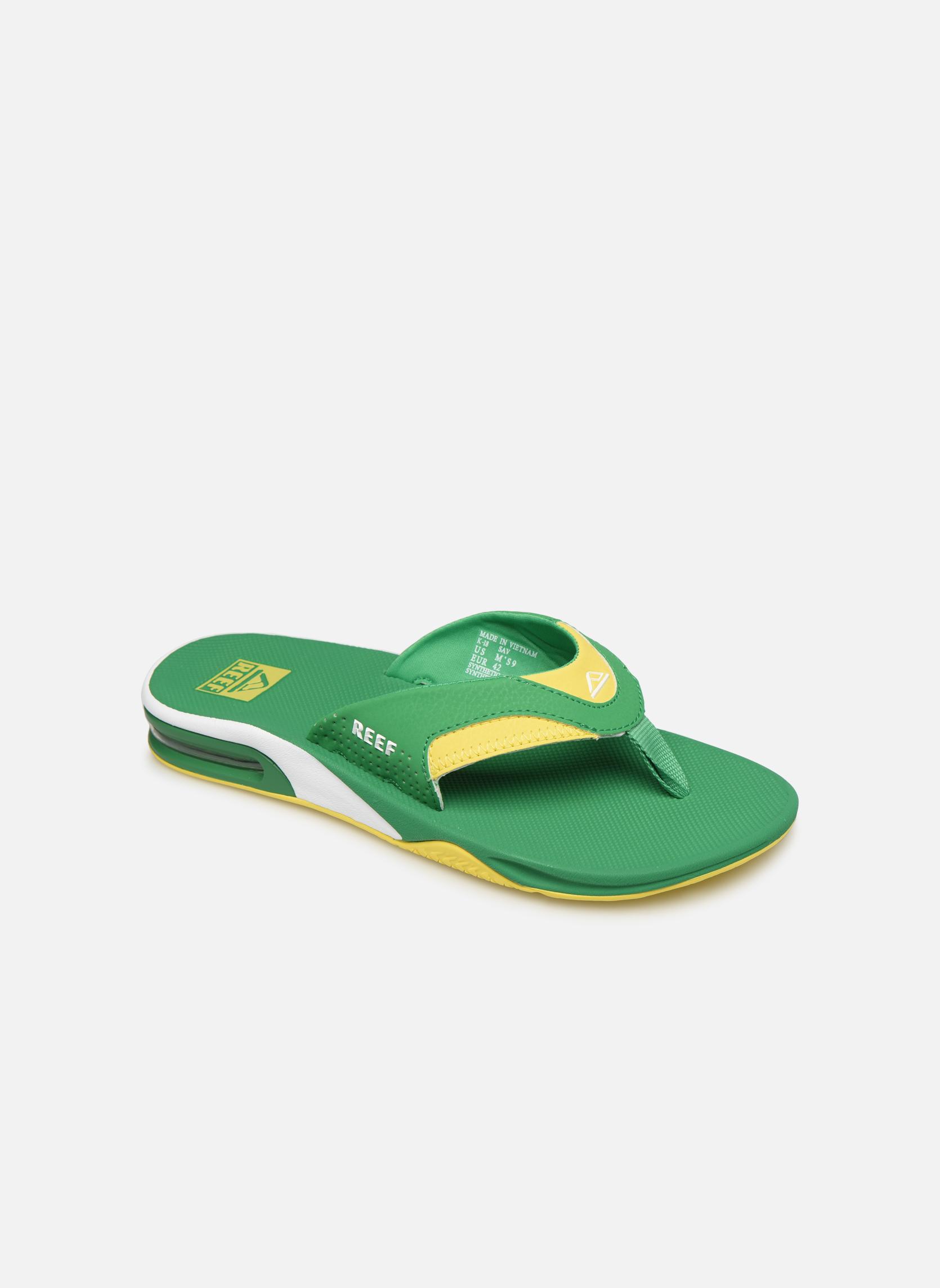 Slippers Reef Groen