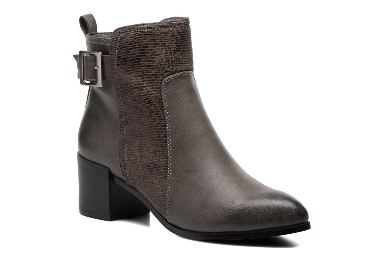Boots en enkellaarsjes Divine Factory Bruin