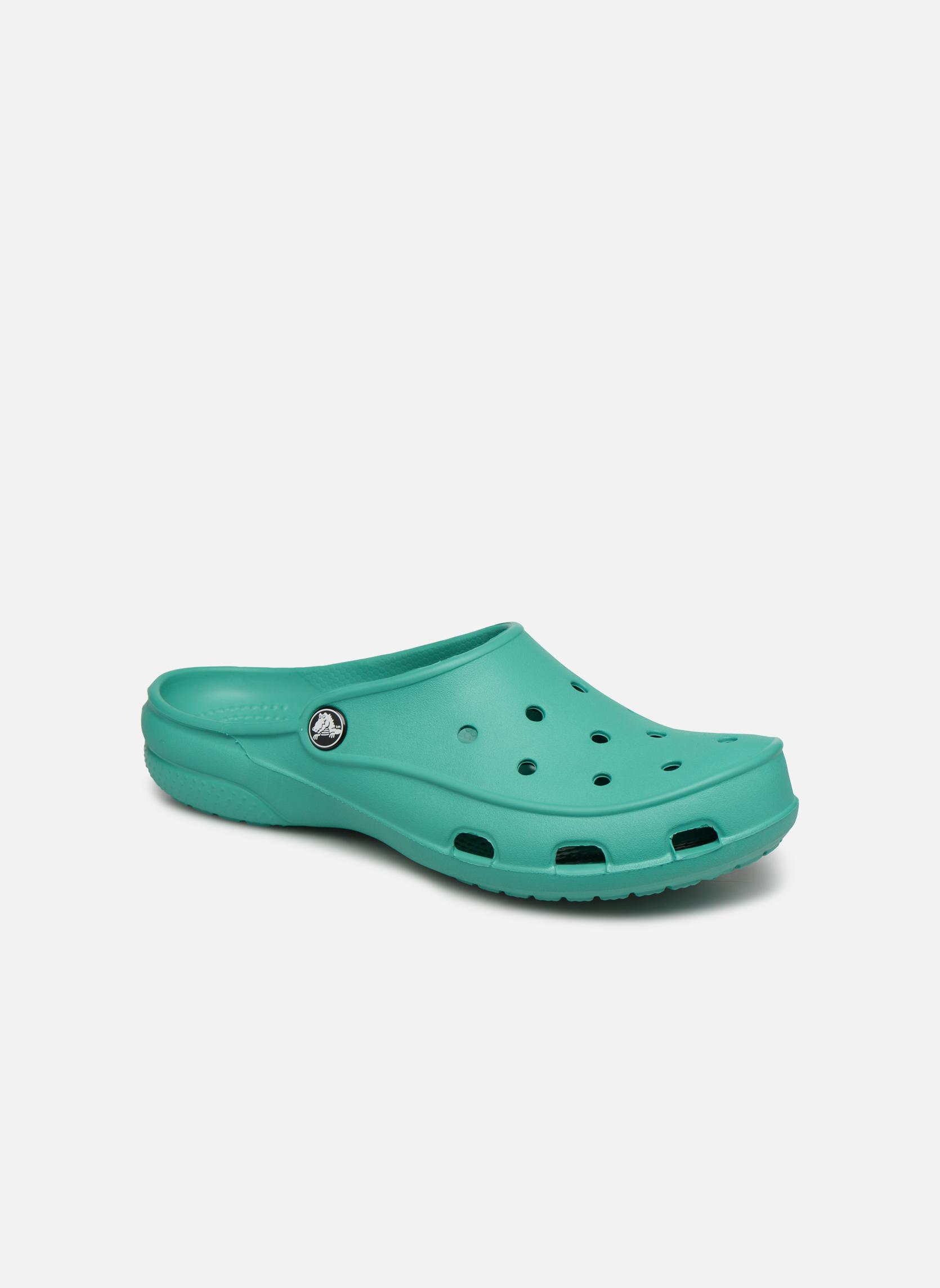 Wedges Crocs Groen