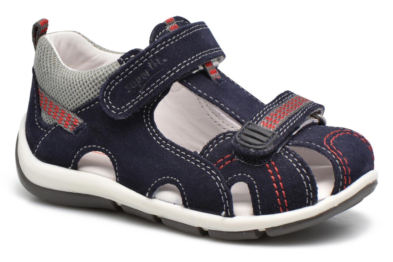 superfit freddy sandalen f r kinder blau bei sarenza g nstig schnell einkaufen. Black Bedroom Furniture Sets. Home Design Ideas