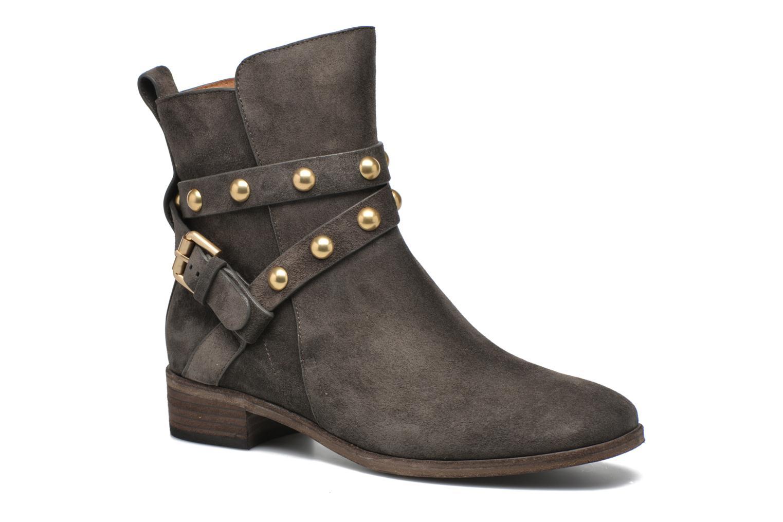 Boots en enkellaarsjes See by Chloé Grijs