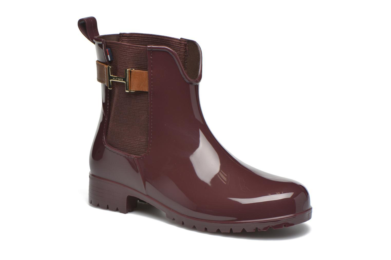Boots en enkellaarsjes Tommy Hilfiger Bordeaux