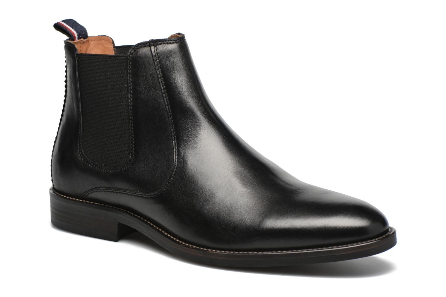 tommy hilfiger dallen 13a stiefeletten boots f r herren schwarz bei sarenza g nstig. Black Bedroom Furniture Sets. Home Design Ideas