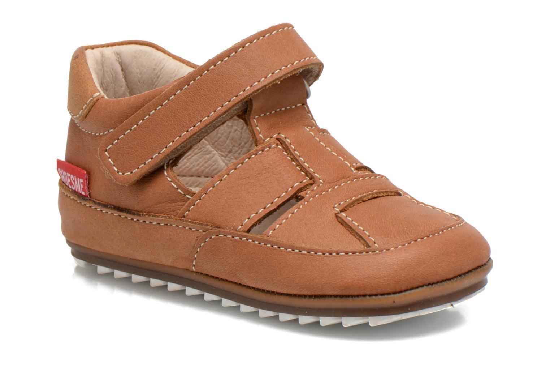 Schoenen met klitteband Shoesme Bruin