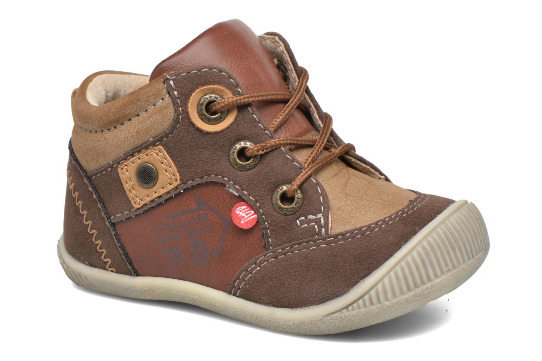 Boots en enkellaarsjes NA! Bruin