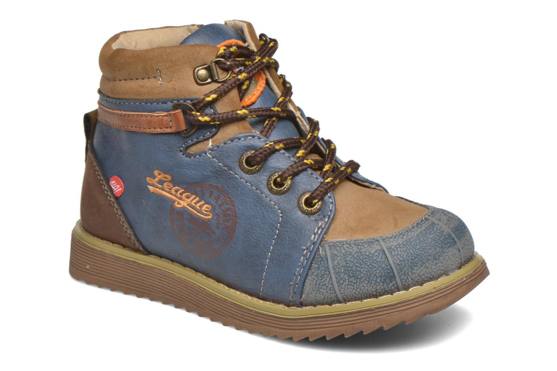 Boots en enkellaarsjes NA! Blauw