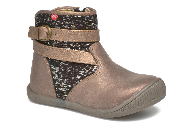 Boots en enkellaarsjes NA! Goud en brons