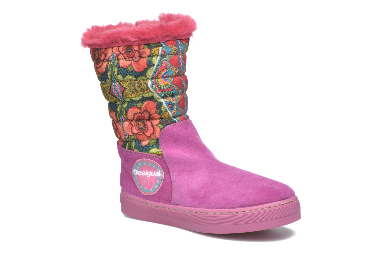 Boots en enkellaarsjes Desigual Roze