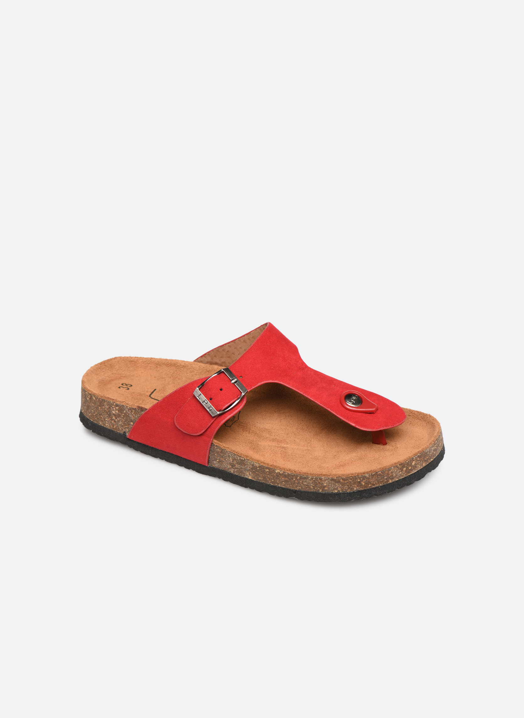 Slippers Les P'tites Bombes Rood