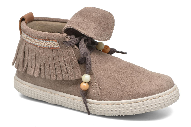 Sneakers Botin Flecos Serraje by Victoria