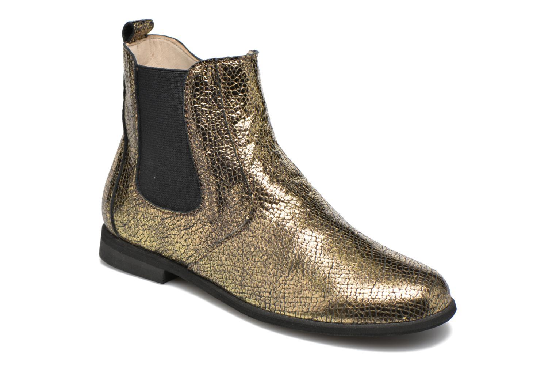 Boots en enkellaarsjes Manuela de Juan Goud en brons
