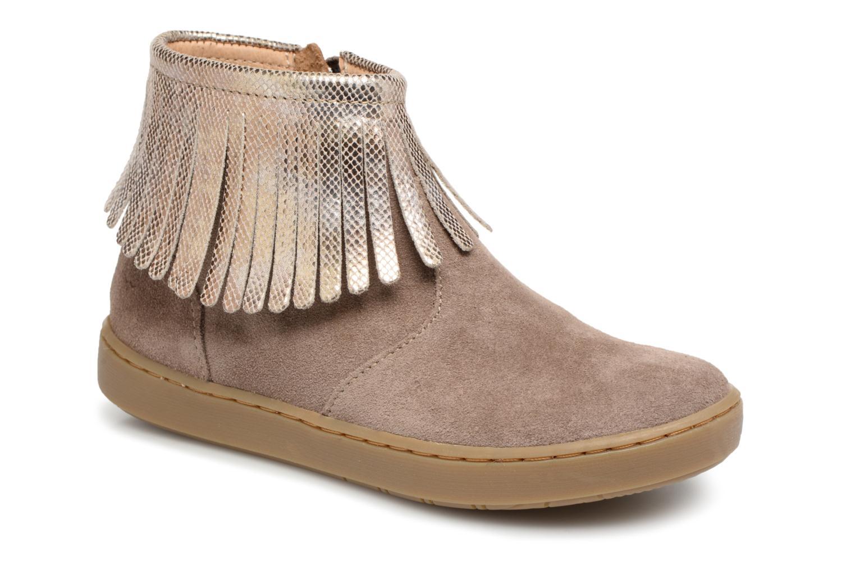 Boots en enkellaarsjes Shoo Pom Beige