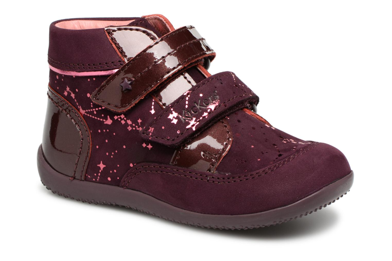Boots en enkellaarsjes Kickers Bordeaux