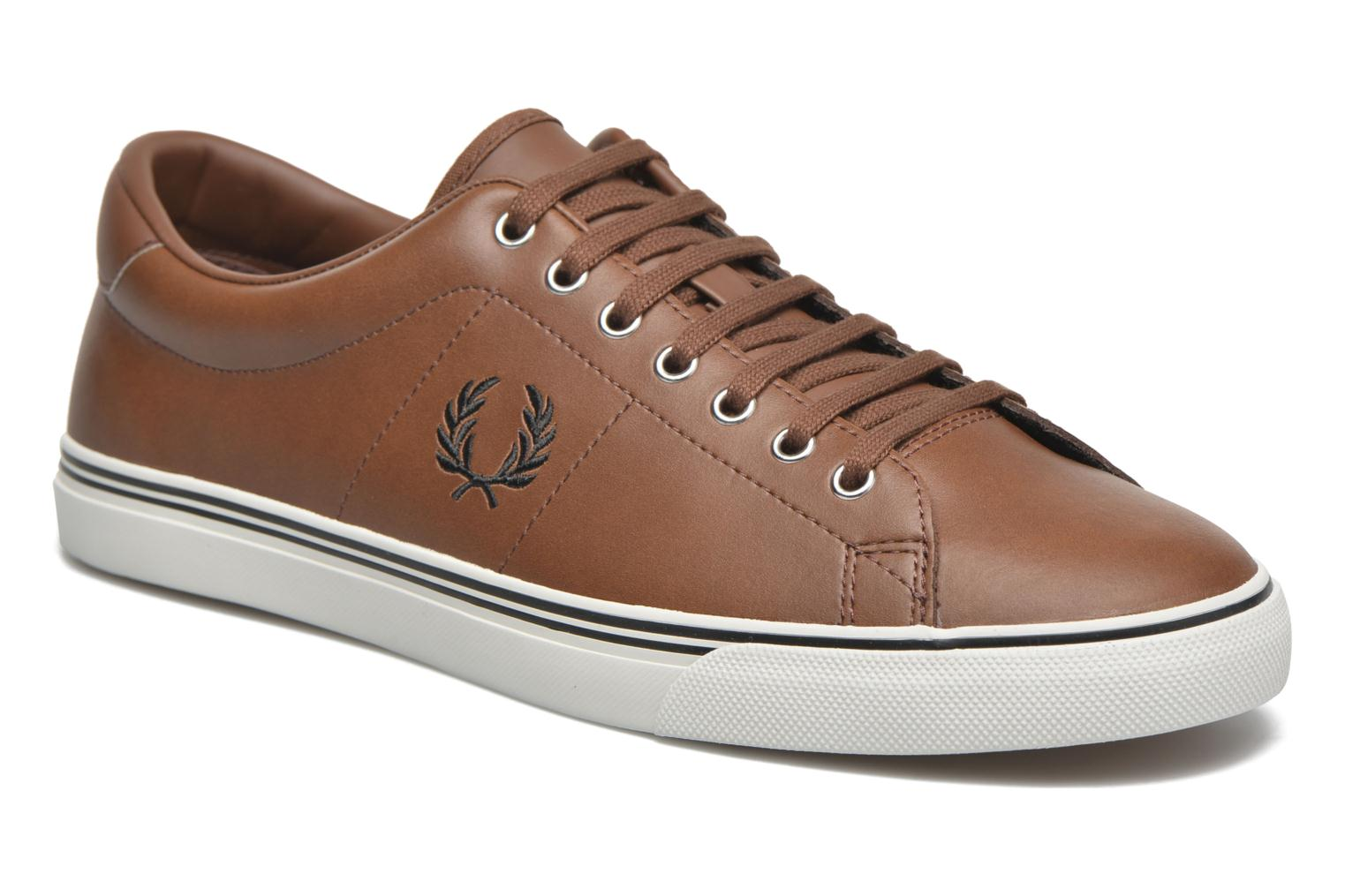 Sneakers Underspin Leather by Fred Perry