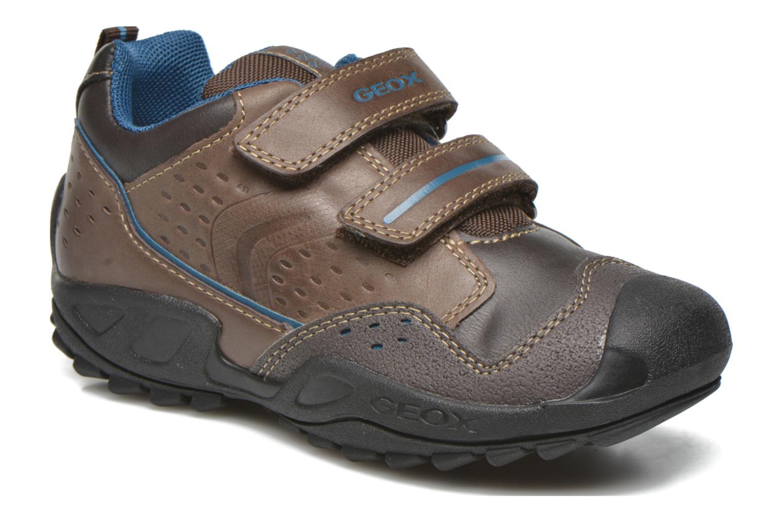 Schoenen met klitteband Geox Bruin
