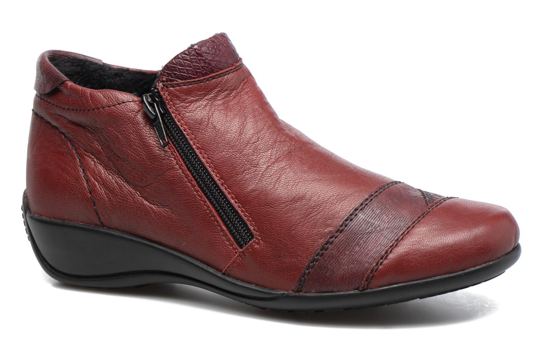 Boots en enkellaarsjes Remonte Bordeaux